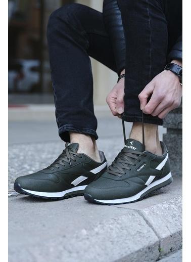 Oksit Spor Ayakkabı Haki